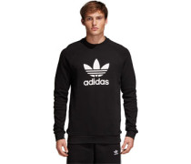 Trefoil Crew Sweater Herren schwarz