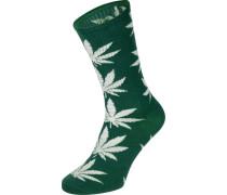 Plantlife Crew Socken botanical green