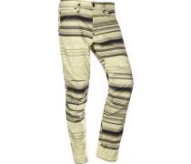 5622 3d Tapered Coj Jeans Herren beige