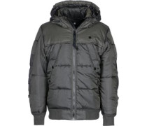 Whitler Hooded Bomber Winterjacke grau