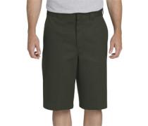 13 inch Multi Pocket Work Shorts oliv