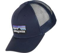 P-6 Logo Trucker Cap blau