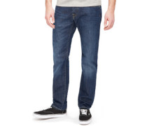 Ed-55 Regular Tapered Jeans mid coal wash