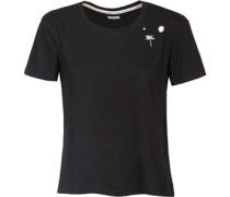Swanson W T-Shirt schwarz