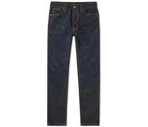 Lean Dean Jeans Herren crinkle blues
