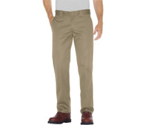 873 Slim Straight Work Pant Hose beige