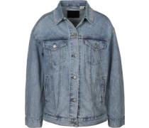 Baggy Trucker W Jeansjacke blau