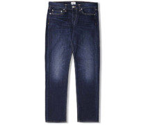 Ed-75 Relaxed Tapered Jeans coal wash