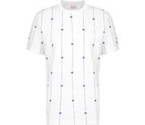 Stripe Logo T-Shirt weiß