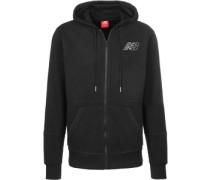 Mj81508 Hooded Zipper schwarz