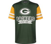 NFL Contrat leeve Overized Green Bay Packer Herren T-hirt grün