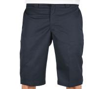 Slim Fit Work Herren Shorts blau