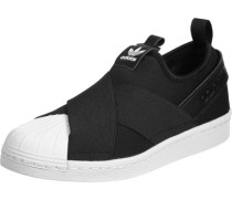 Superstar Slip On W Schuhe schwarz weiß