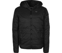 Hooded titch Jacket Parka Herren chwarz