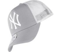 Mlb Clean Trucker Ny Yankees Cap Herren grau weiß