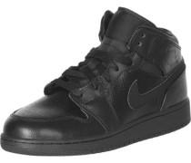 1 Mid Gs Schuhe schwarz