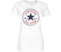 Core Solid Chuck Patch Crew W T-Shirt Damen weiß EU