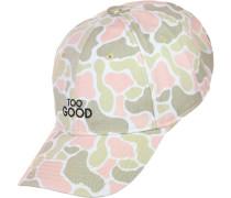 Curved Good Snapback beige pink oliv