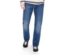 Ed-55 Regular Tapered Stretch Herren Jeans baltic wash