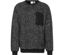 Nmd Lg Crew Copenhagen Herren Sweater schwarz weiß