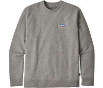 ticker Patch Uprial Crew Herren weater grau meliert