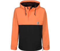 Nimbus Two Tone Windbreaker orange schwarz
