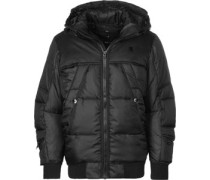 Whitler Hooded Bomber Winterjacke chwarz