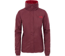 Resolve 2 W Regenjacke Damen rot