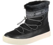 Alpine Stiefel Damen schwarz