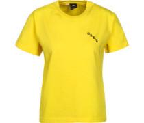 Slauson Rose W T-Shirt gelb