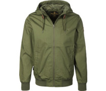 Dulcey Light Leichte Jacken Jacke grün grün