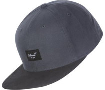 Pitchout 6-Panel Snapback grau schwarz