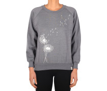Pusteblume Sweater Damen charcoal mel.