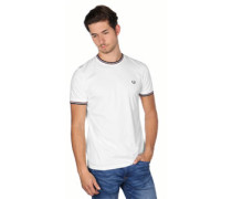 Twin Tpped T-Shirt weiß
