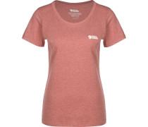 Logo Damen T-Shirt rot meliert