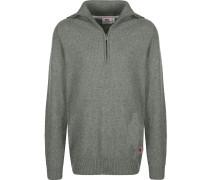 Greenland Re-Wool Herren Sweater grau meliert