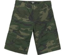 Aviation Columbia Bermudas camo combat green rinsed