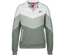 W Sweater grün weiß
