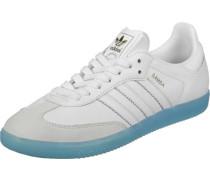 Samba W Schuhe weiß blau