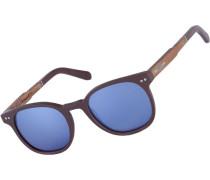 Pottenstein matte Sonnenbrille braun