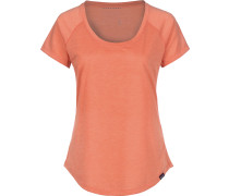 Cap Cool Trail Damen T-Shirt orange meliert