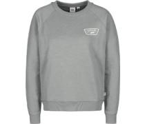Full Patch Raglan Crew W Sweater grau meliert grau meliert