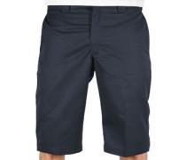 Slim Fit Work Shorts blau