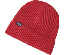 Fishermans Rolled Beanie rot