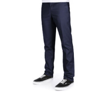 872 Slim Fit Work Hose blau