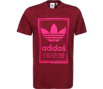 Vintage T-Shirt weinrot