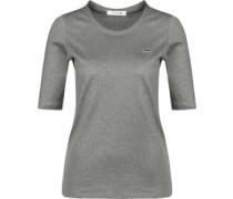 T-Shirt Damen grau meliert