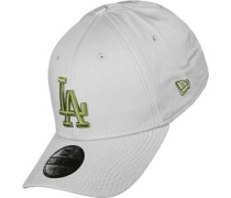 League Essential 3930 Los Angeles Dodgers Schildkappen Cap grau grau