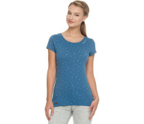 Mint Luck T-hirt Damen blau