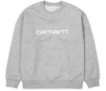 Basic W Sweater grau meliert